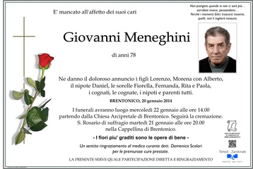 Meneghini Giovanni