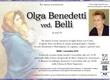 Benedetti Olga ved. Belli