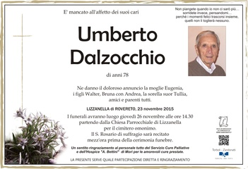 Dalzocchio Umberto