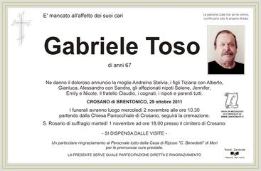 Toso Gabriele