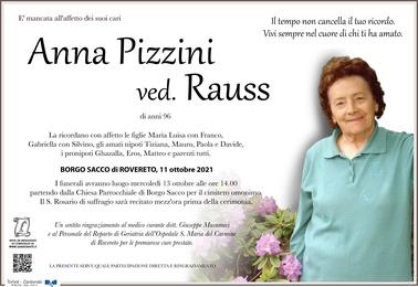 Pizzini Anna ved. Rauss