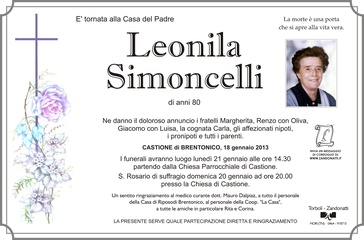 Simoncelli Leonila