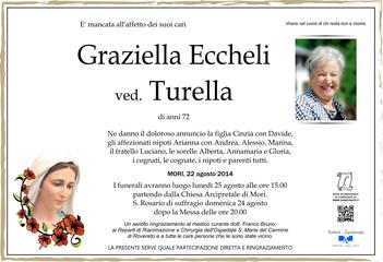 Eccheli Graziella ved. Turella