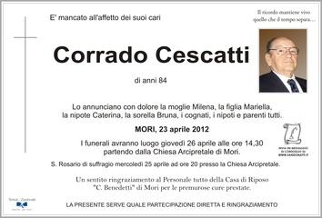 Cescatti Corrado