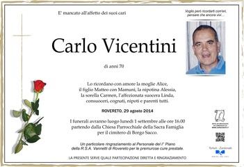Vicentini Carlo