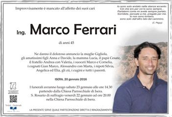 Ferrari Marco