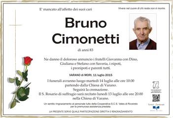 Cimonetti Bruno