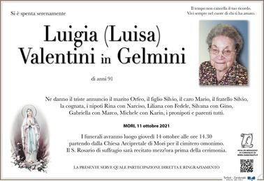 Valentini Luigia in Gelmini