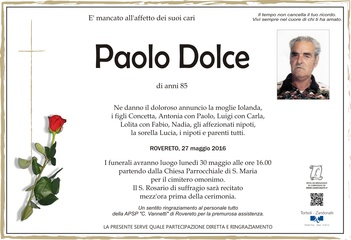 Dolce Paolo