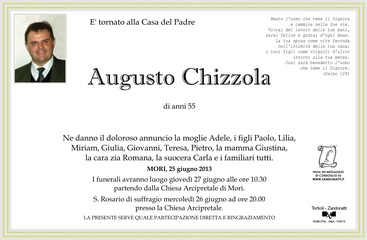 Chizzola Augusto