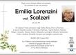 Lorenzini Emilia ved. Scalzeri