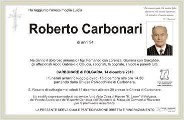 Carbonari Roberto