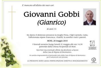 Gobbi Giovanni