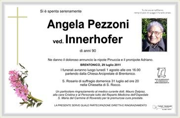 Pezzoni Angela ved. Innerhofer