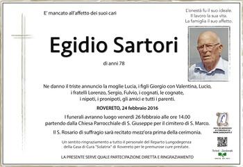 Sartori Egidio
