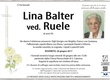 Balter Lina ved. Ruele