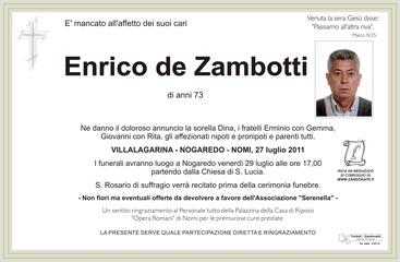 de Zambotti Enrico