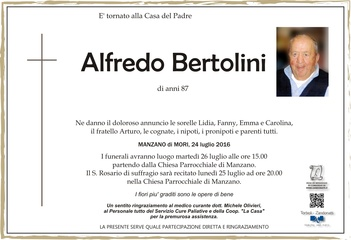 Bertolini Alfredo