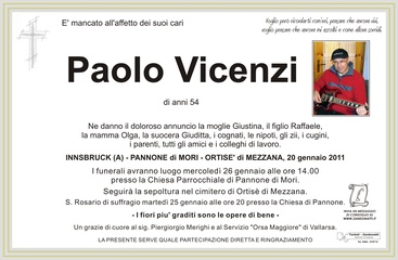 Vicenzi Paolo
