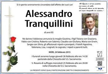 Tranquillini Alessandro