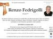 Fedrigolli Renzo