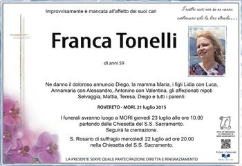 Tonelli Franca