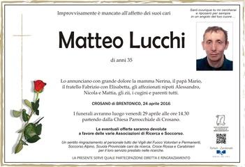 Lucchi Matteo