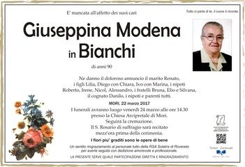 Modena Giuseppina in Bianchi