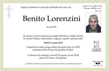 Lorenzini Benito
