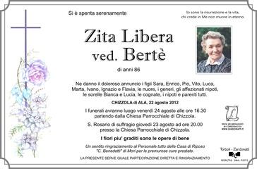 Libera Zita ved. Bertè