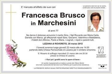 Brusco Francesca in Marchesini