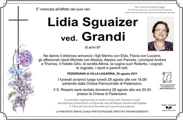 Sguaizer Lidia ved. Grandi