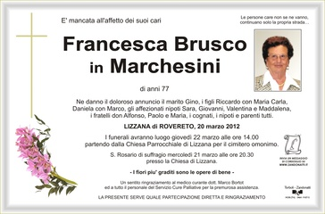 Brusco Francesca in Marchesini