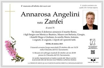 Zanfei Annarosa in Angelini
