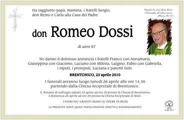 Dossi don Romeo