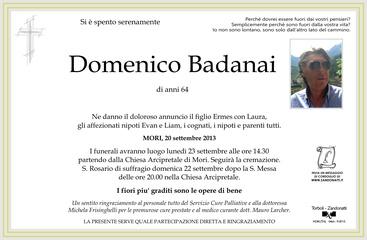 Badanai Domenico