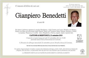 Benedetti Gianpiero