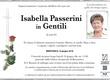 Passerini Isabella in Gentili