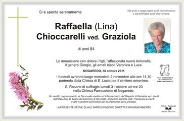 Chioccarelli Raffaella ved. Graziola