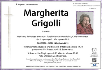 Grigolli Margherita