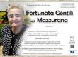 Gentili Fortunata ved. Mazzurana