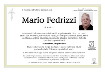 Fedrizzi Mario