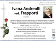 Andreolli Ivana ved. Frapporti