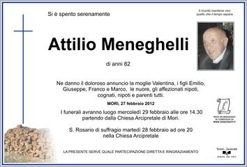 Meneghelli Attilio