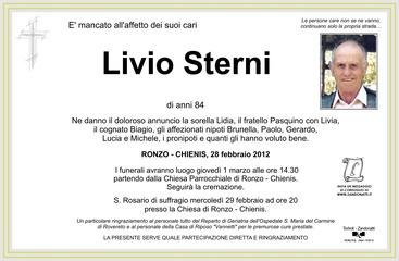 Sterni Livio