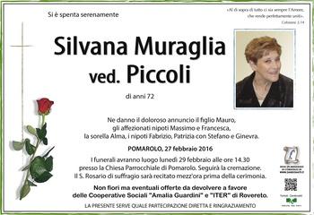 Muraglia Silvana ved. Piccoli