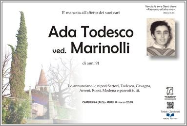 Todesco Ada ved. Marinolli