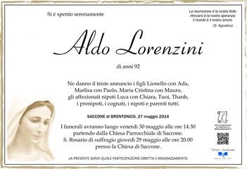 Lorenzini Aldo