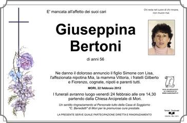 Bertoni Giuseppina