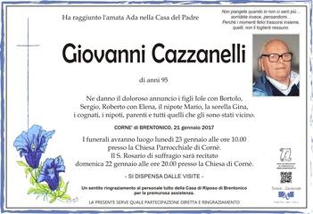 Cazzanelli Giovanni